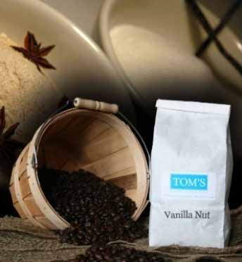 Vanilla Nut Gourmet Coffee: